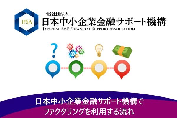 日本中小企業金融サポート機構でファクタリングを利用する流れ
