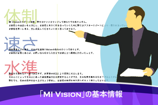 「MI Vision」の基本情報
