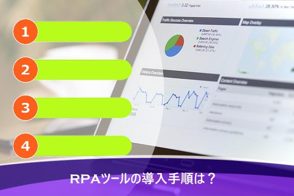 RPAツールの導入手順は?
