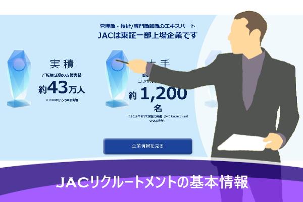 JACリクルートメントの基本情報